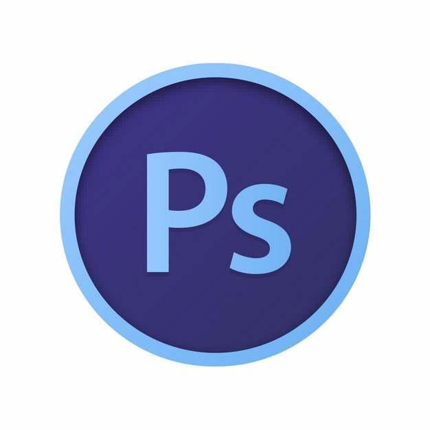 adobe设计软件的PS图标logo圆形标志560195图片免抠素材