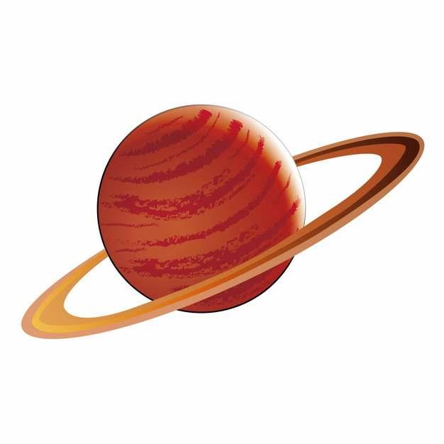 手绘风格木星土星等气态行星987509png图片素材