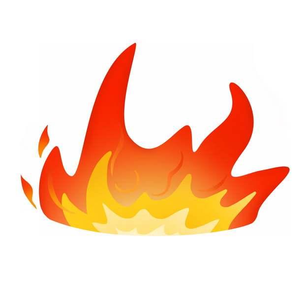 燃烧的卡通火焰火苗图案422664图片素材