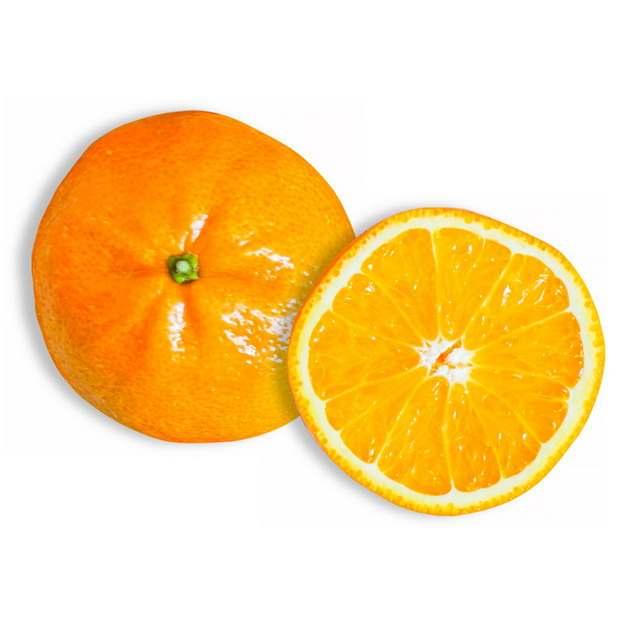 橙子横切面美味水果851163png图片素材