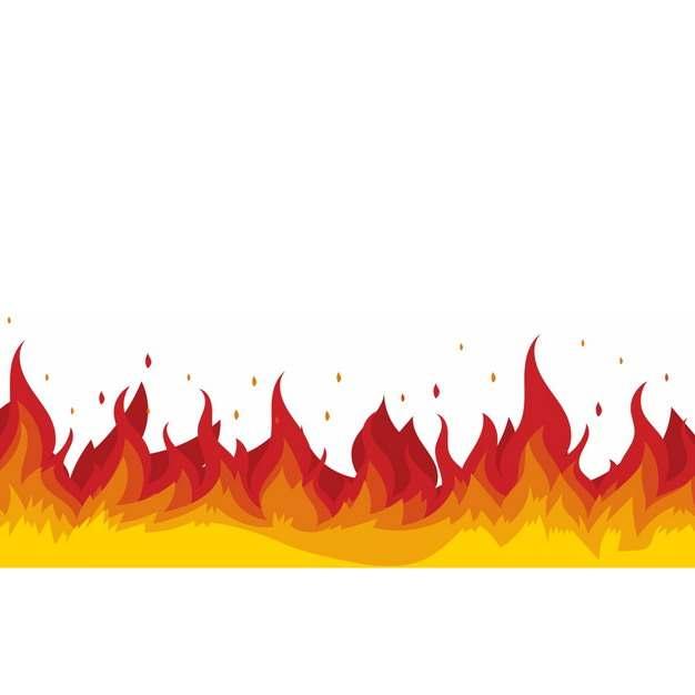 燃烧的火焰火苗效果熊熊烈火特效775921png图片素材