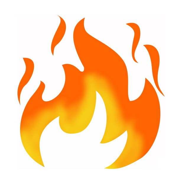 燃烧的火焰小火苗图案免抠图片素材