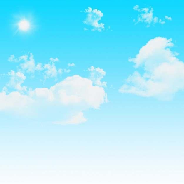 蓝天白云蔚蓝天空780501图片素材