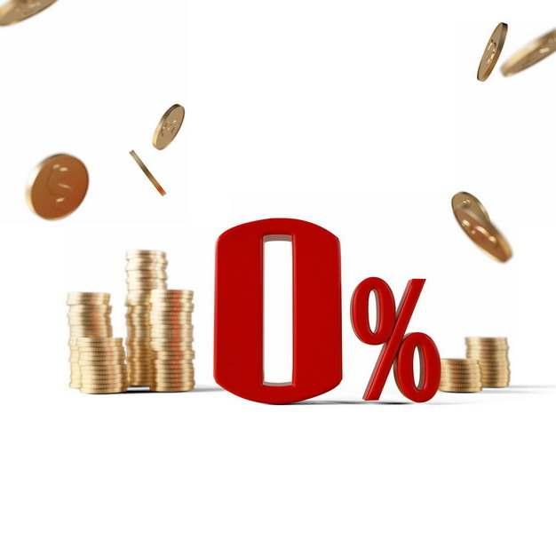 金色金属色金币和3D立体0%百分比587638png图片素材
