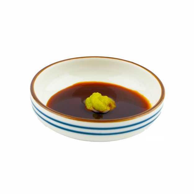 一小碗芥末酱油调味品971464png图片免抠素材