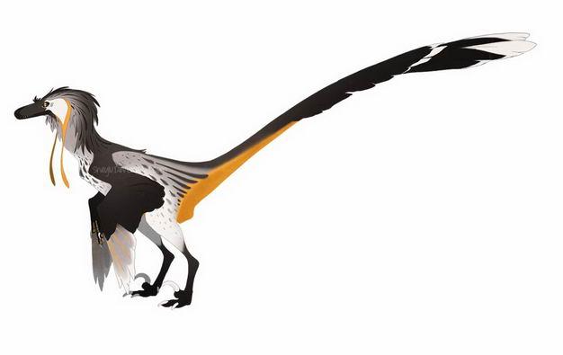 带羽毛恐龙复原图2373290png图片免抠素材