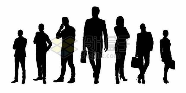 各种商务人士男人女人剪影725823图片素材