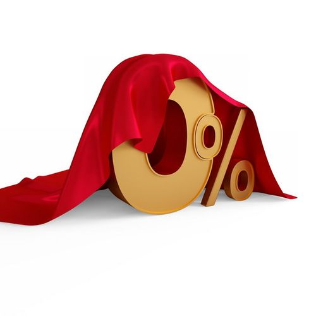 红布盖着的3D立体0%百分比金色金属色字体269769png图片素材