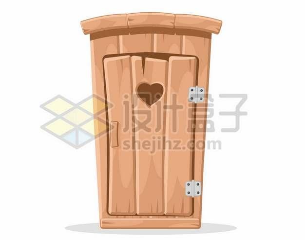 卡通风格木质大门892303图片素材