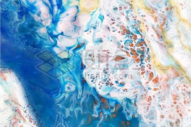 蓝色抽象色块纹理贴图497078背景图片素材