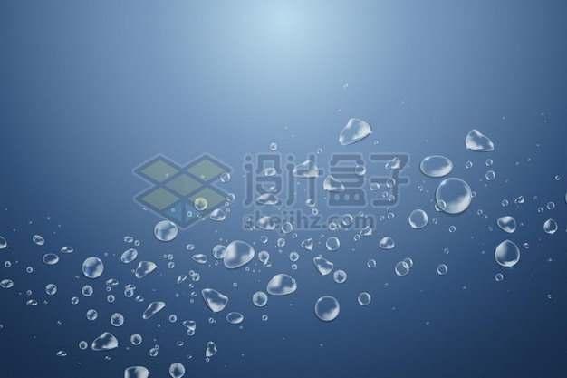 各种水珠水滴效果524432png矢量图片素材
