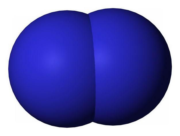 蓝色的氘核氢原子结构示意图5900725png图片免抠素材
