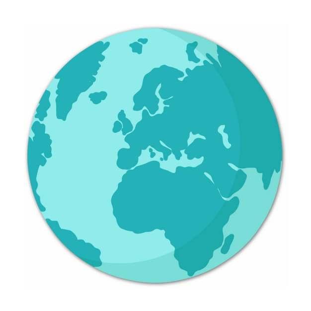 蓝色的地球图案551975PSD图片免抠素材