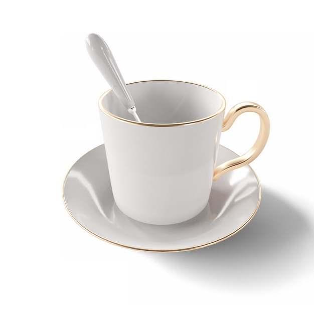 欧式英式咖啡杯陶瓷杯209226png图片素材