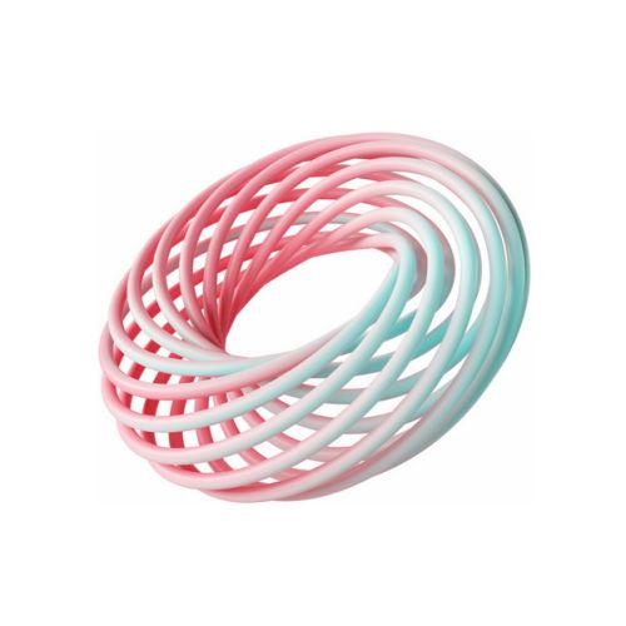 创意3D立体抽象螺旋装饰图案744687png图片素材