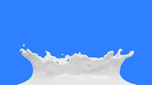 白色牛奶飞溅的白色水花效果429815png图片免抠素材