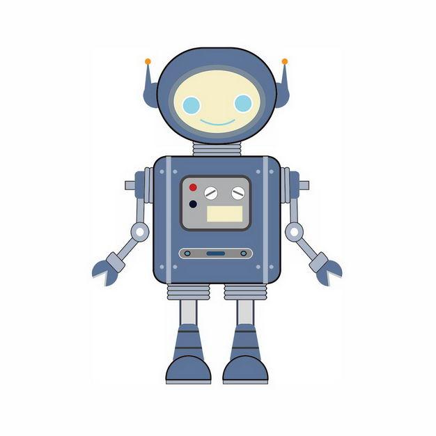 微笑的卡通小机器人586454png图片免抠素材 人物素材-第1张