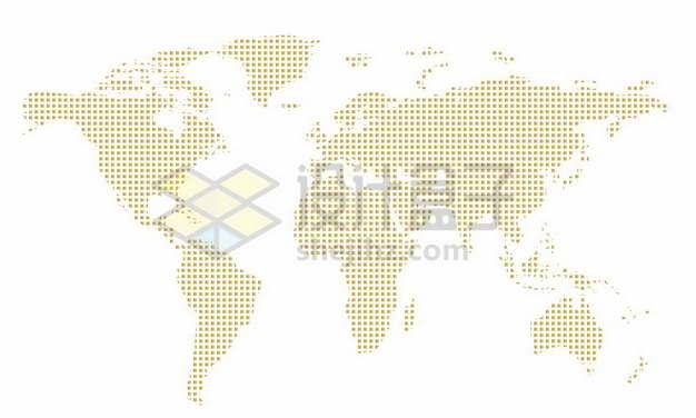 金色小点组成的世界地图239462图片素材