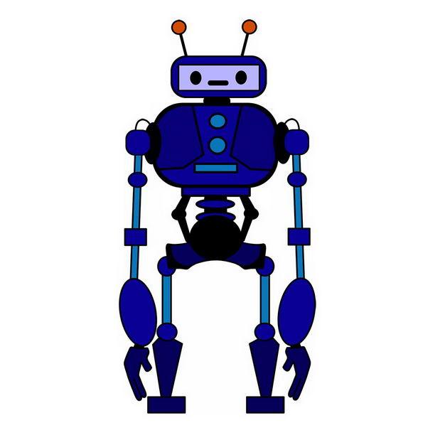 紫色的卡通小机器人169794png图片免抠素材 人物素材-第1张
