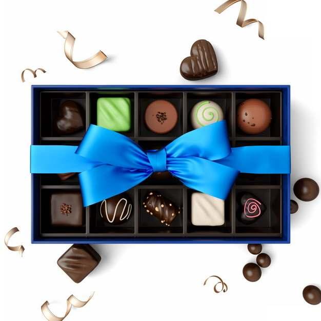 精美包装的高档巧克力礼盒618539png图片素材