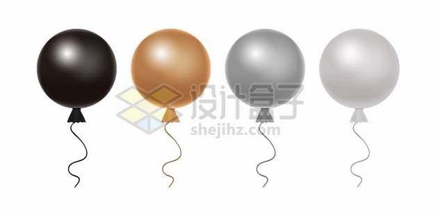 黑色金色灰色气球539751图片素材