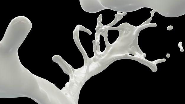 乳白色液体飞溅的牛奶喷溅效果108291png图片免抠素材 效果元素-第1张