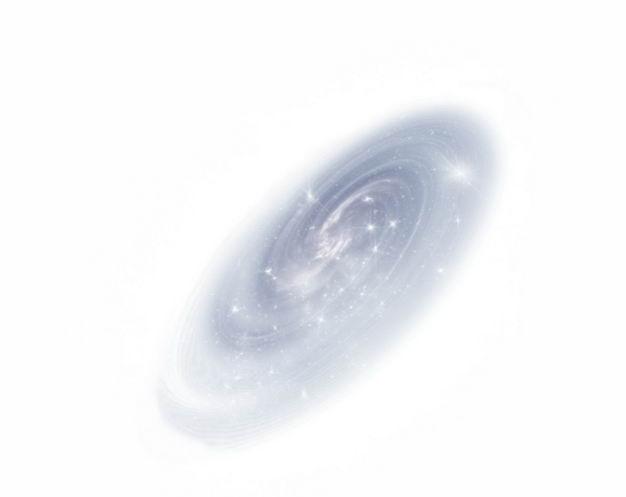 灰色发光的银河系星系4808907png图片免抠素材 科学地理-第1张