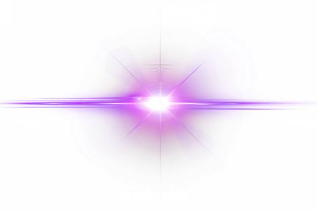 紫色闪光星光光芒光晕效果113705png免抠图片素材