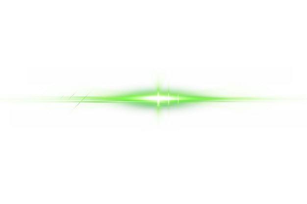 绿色闪光星光光芒光晕效果953079png免抠图片素材 效果元素-第1张