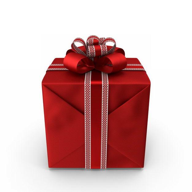 3D立体包装精美的红色礼物盒322044免抠图片素材