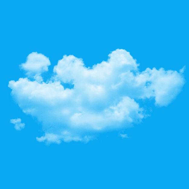 逼真的白云png图片免抠素材 生物自然-第1张