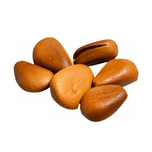 六颗开口松子美味坚果零食2092673png图片免抠素材