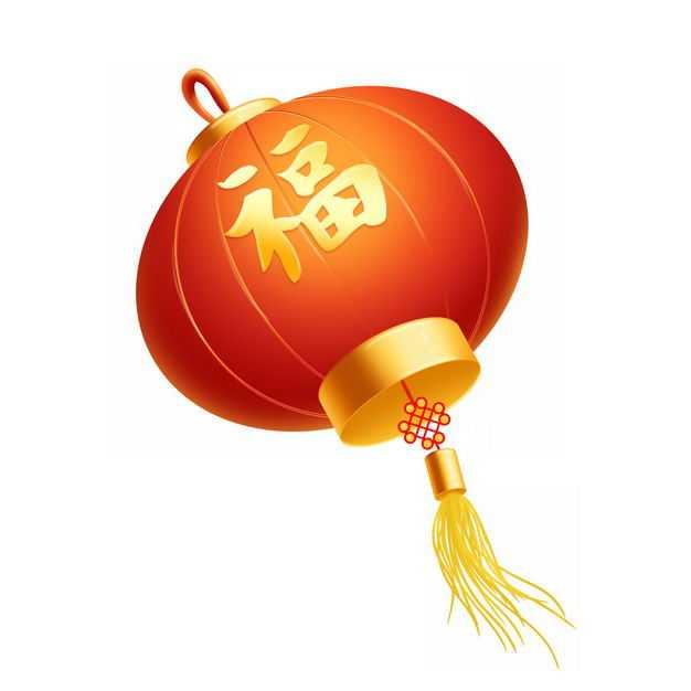 大大的红色新年春节福字大红灯笼6364092PSD图片免抠素材