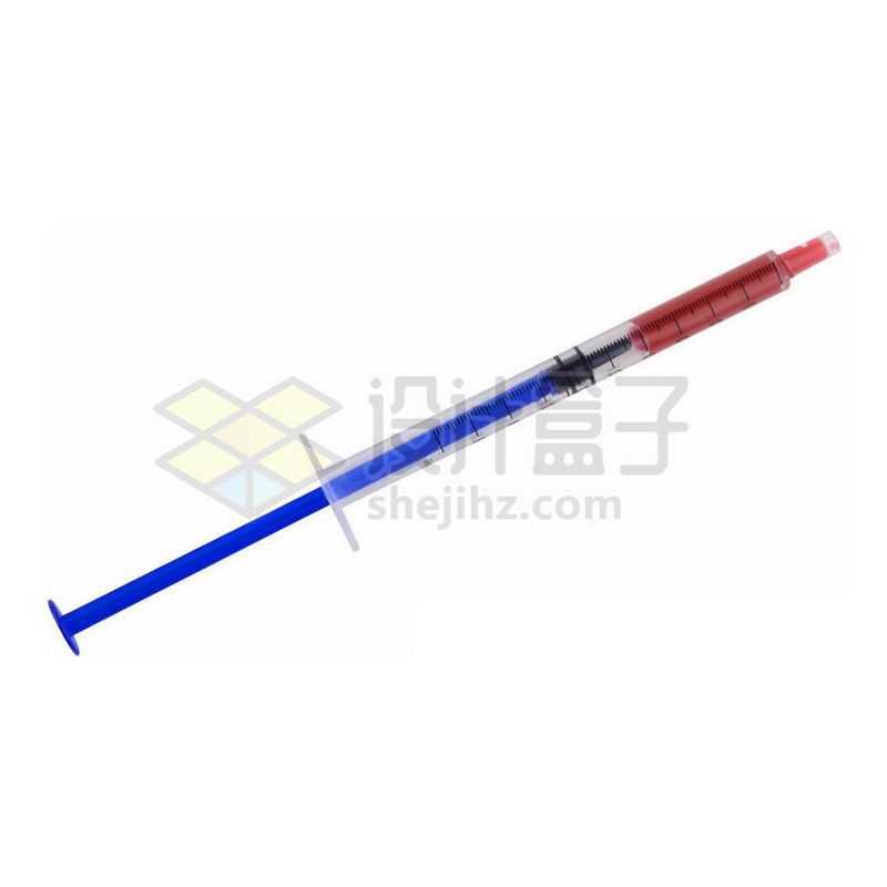 一次性针筒注射器医疗用品6656454png图片免抠素材