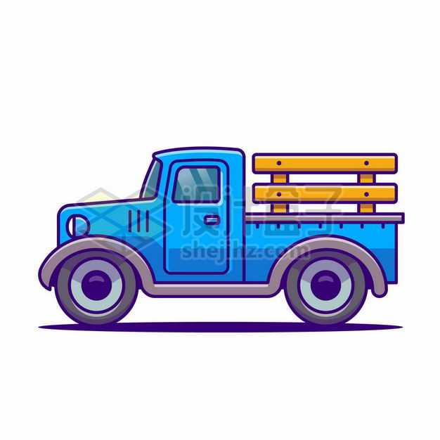 MBE风格卡通小货车农用卡车5179486png图片免抠素材