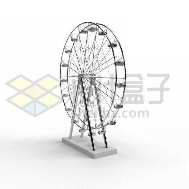 金属色的摩天轮模型5676786PSD图片免抠素材