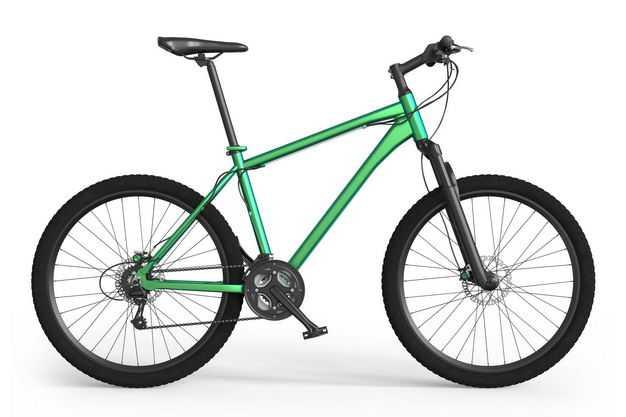 3D立体运动自行车山地自行车公路自行车侧视图1667432png图片免抠素材