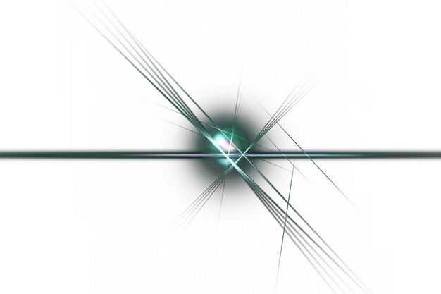 绿色闪光星光光芒光晕效果649034png免抠图片素材
