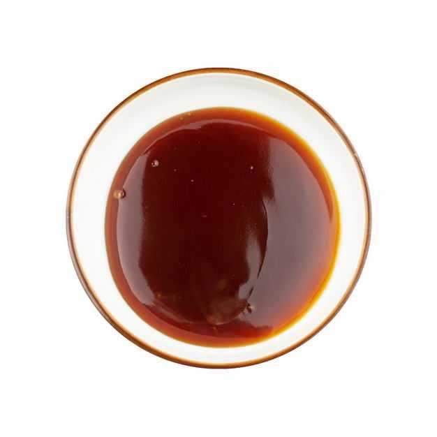 俯视视角小碗中的海天蚝油调味品682442png图片免抠素材