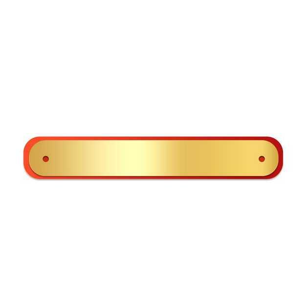 金色金属光泽的新年春节标题框4085417PSD图片免抠素材