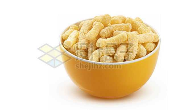 碗中的虾条美味零食6032975图片免抠素材