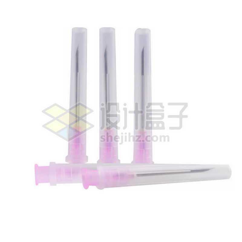 粉色的注射器针头一次性分注器针头1070174png图片免抠素材