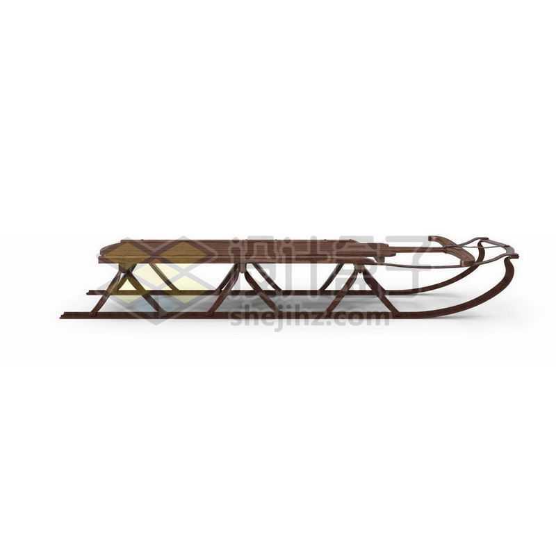 木制雪橇车雪橇板1992416图片免抠素材