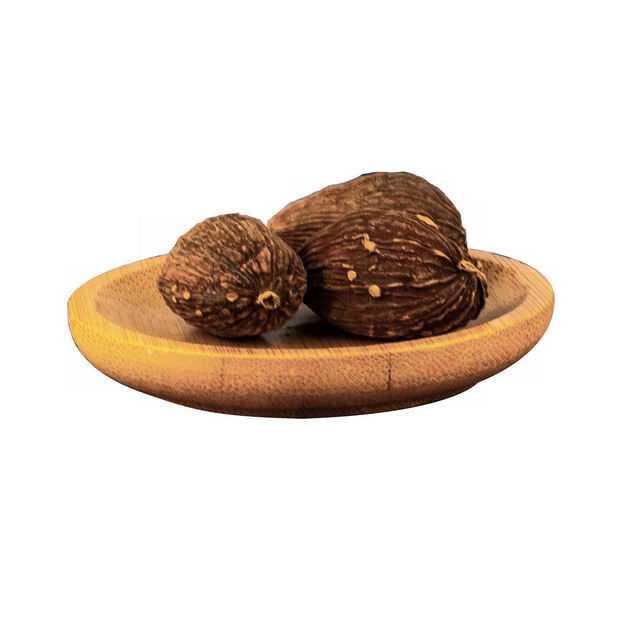 木盘子中装着的草果香调味品香料9073734png图片免抠素材