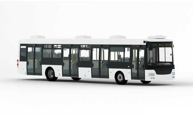 公交车右前方视角车上样机图案3575461PSD图片素材