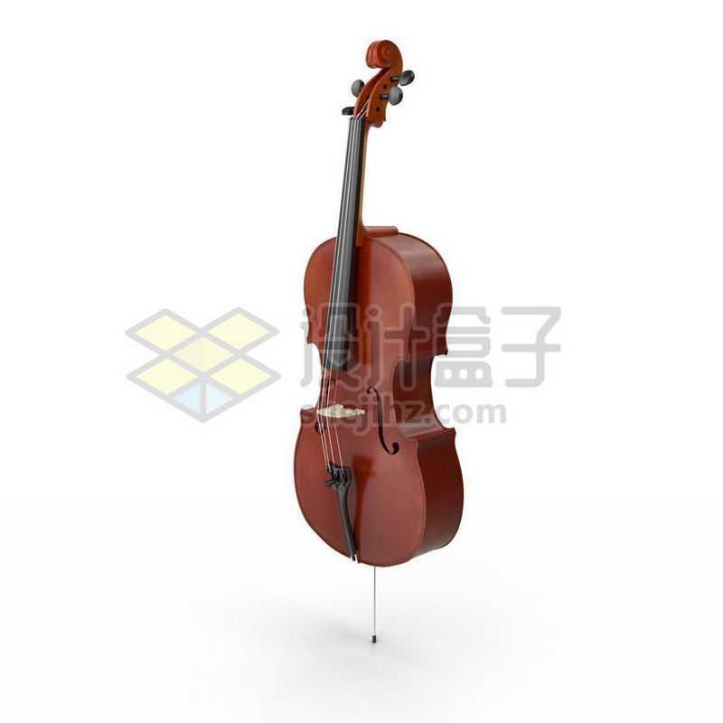 3D立体高清大提琴弦乐器西洋乐器4681109图片免抠素材