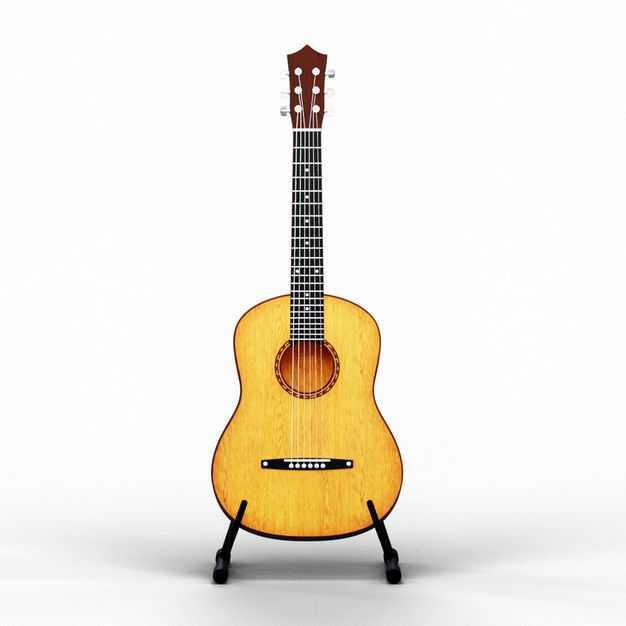 放在架子上的吉他音乐西洋乐器4730294PSD图片素材