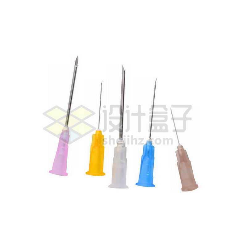 五款一次性针筒注射器针头8365610png图片免抠素材