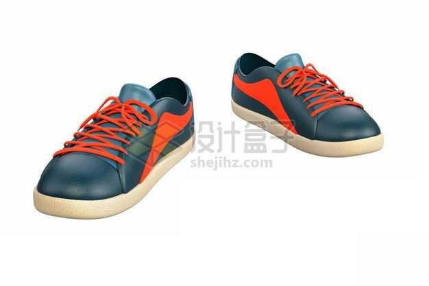 一双男士运动鞋休闲鞋板鞋3276700图片免抠素材