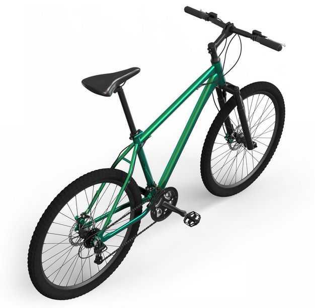3D立体运动自行车山地自行车公路自行车后右视角4369710png图片免抠素材